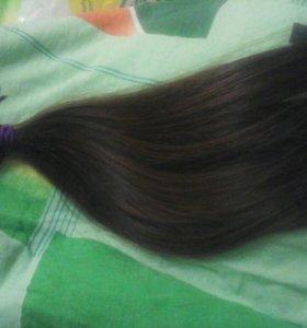 Волосы натуральные 45-50 см
