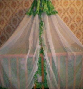 Кроватка (маятник)+ матрас