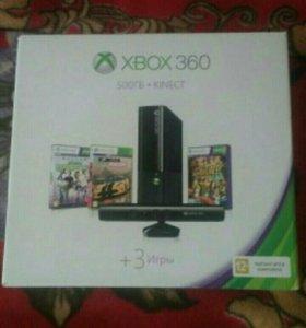 Xbox 360, 500ГБ+Kinect, 20 игр