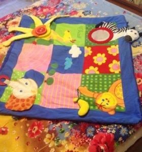 Развивающие игрушки и коврик