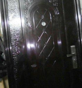 Двери б.у с установкой