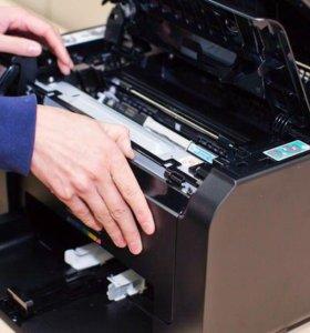 ремонт принтера и прошивка