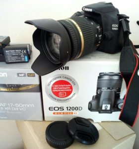 Canon 1200D + Tamron 17-50mm f/2.8 VC
