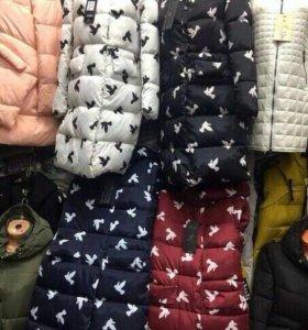 Куртка холлофайбер 44-46 зима