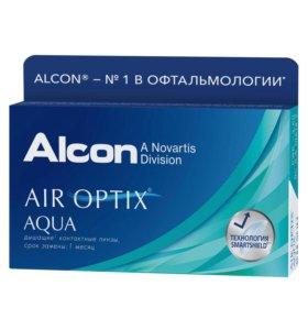 Контактные линзы ALCON AIR OPTIX AQUA