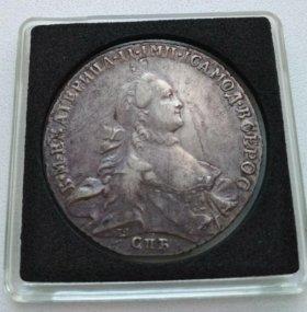 1 рубль 1764г.