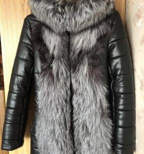 Зимняя натуральная куртка, 44 размер