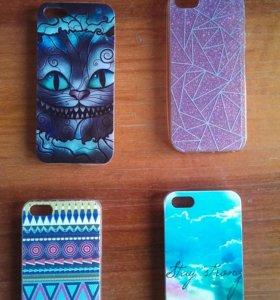 Чехлы для iPhone 5/5S (9шт)