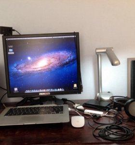 Студия Logic 9 Pro на MacBook Air