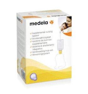 Система докорма у груди Medela Sns. Медела снс