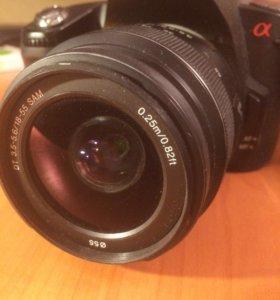 Зеркальный фотоаппарат Sony Alpha a390