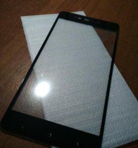 Защитное стекло на xiaomi redmi 4
