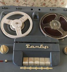 магнитофон Тембр,1966 год