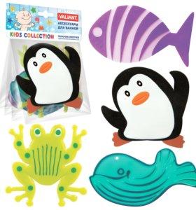 Набор мини-ковриков в ванную Морская забава