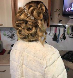 Причёски и макияж , свадебные и вечерние