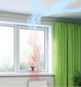 Приточный клапан AirBox Comfort на окна