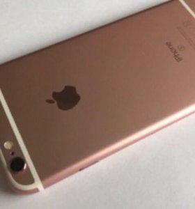 iPhone 6s 64g розовое золото