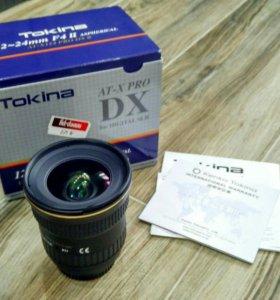 Tokina AT-X PRO 12-24 f/4 DX II Aspherical (для Ni