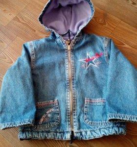 Джинсовые куртки детские