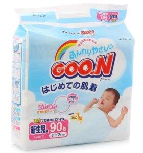 Подгузники Goon до 5 кг (90 шт)