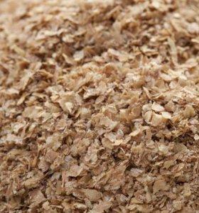 Отруби пшеничные пушистые для животных