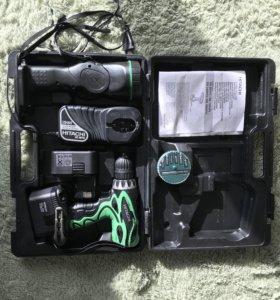 Аккумуляторная дрель-шуруповерт Hitachi DS14DVF3