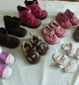 Обувь для девочки р. 19