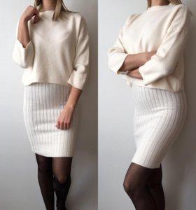 Костюм ( платье+кофта)