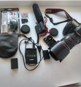 Canon 5D mark ii EF 27-70 L USM