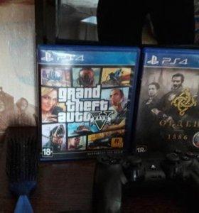 PlayStation 4 + GTA 5 + Орден1886