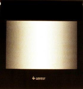 Стекло наружное GEFEST1500 К19, коричневый мрамор