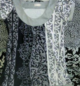 Туника - платье трикотаж48-52. Обмен