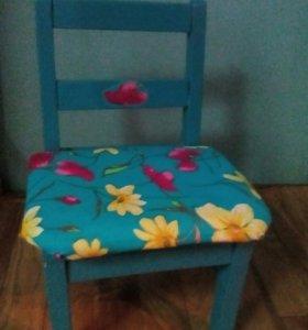 Детский стул раскладушка