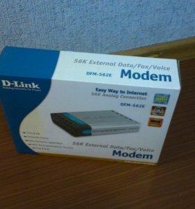 Модем внешний аналоговый D-Link DFM-562E