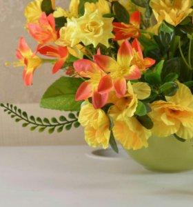 Композиция с цветами