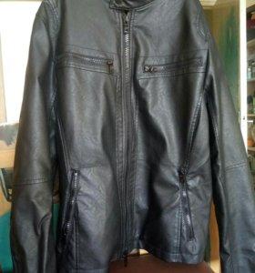Куртка мужская (экокожа)
