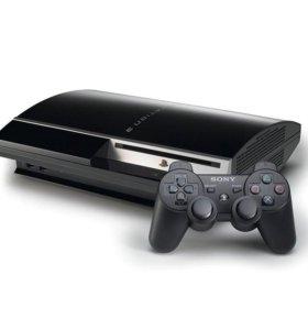 Игровая приставка PS3 FAT 80Gb