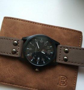 Часы+ кошелек