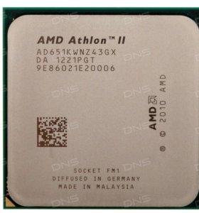 Продам процессор AMD Athlon ll X2 на 2700 частота