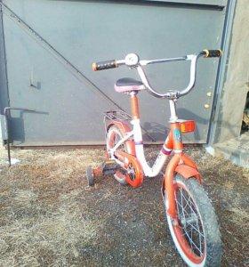 Велосипед детский (4-6) лет