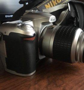 Nikon d50 зеркальный фотоаппарат,обьектив 18-55