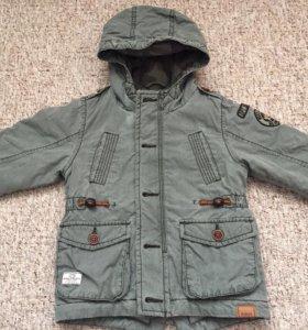 куртка/парка на мальчика NEXT б/у