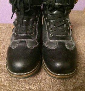Ботинки зима 34 размер