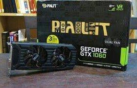 Видеокарта Palit GeForce GTX 1060 6G Dual (Новая)