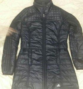Черная куртка Adidas оригинал