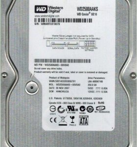 Western Digital WD Blue 250 GB (WD2500aaks)