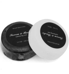 Мыло для бритья (козье молоко / бамбуковый уголь)
