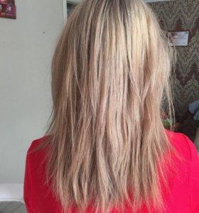 Полировка волос!!