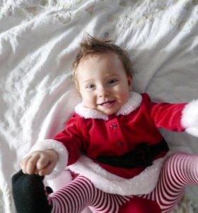 Платье Санта Клауса