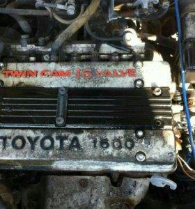Двигатель 4age 16 v